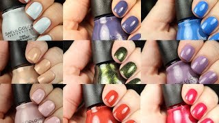 Sinful Colors | New Polishes for 2018 | Live Application Review