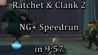 Ratchet & Clank: Going Commando - NG+ Speedrun in 9:57