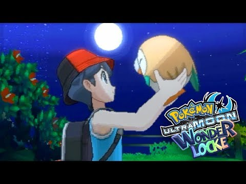 ROWLET, I CHOOSE YOU!! [#1] | Pokémon Ultra Sun And Moon Wonderlocke