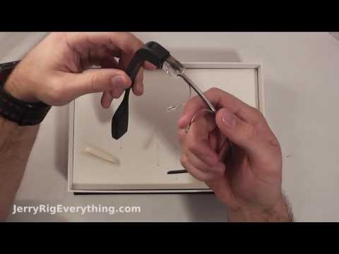 Unboxing Google Glass, First Impression -JerryRigEverything