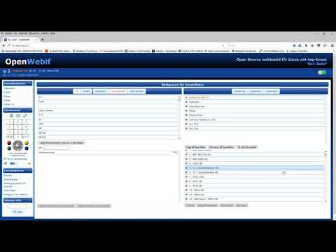 import export openwebif - YouTube