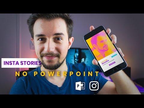 INSTA STORIES Usando O POWERPOINT