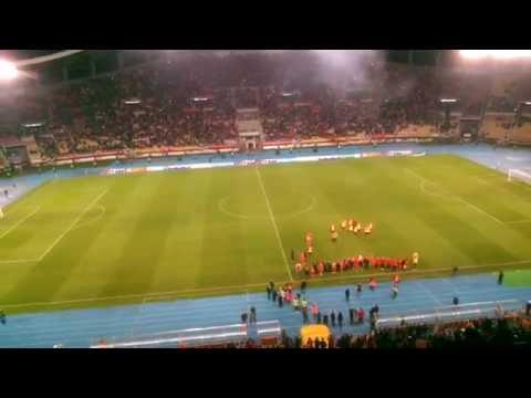 Македонија У21 - Шкотска У21 2:0 последните моменти и славјето на терен