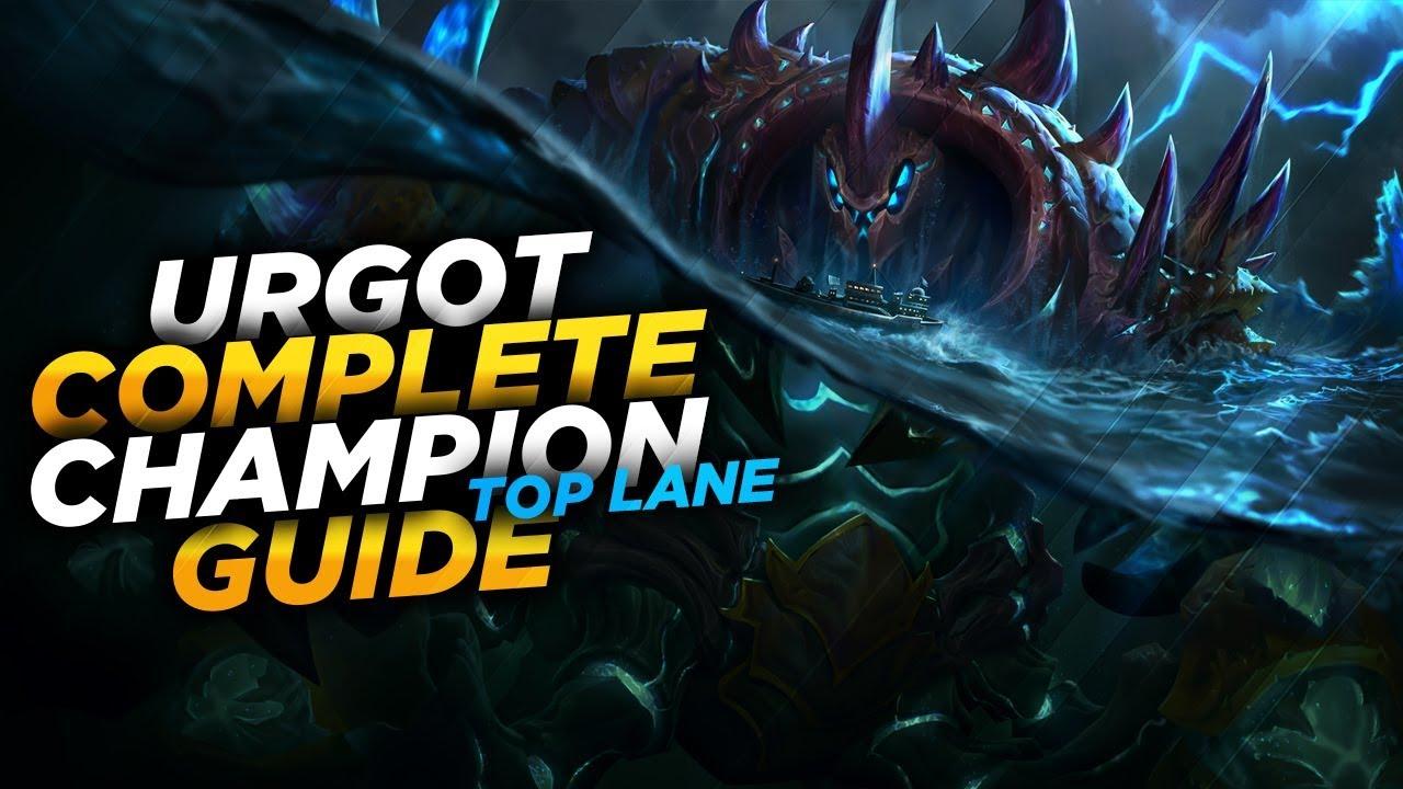 Urgot The Dreadnought League Of Legends Champion Guide Season 7