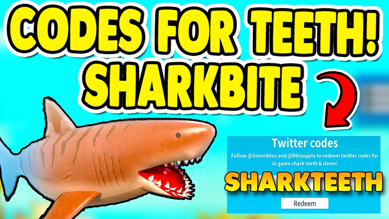 Sharkbite Roblox Codes 2020 April