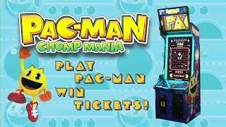 Pac-Man Chomp Mania-Arcade Redemption Game