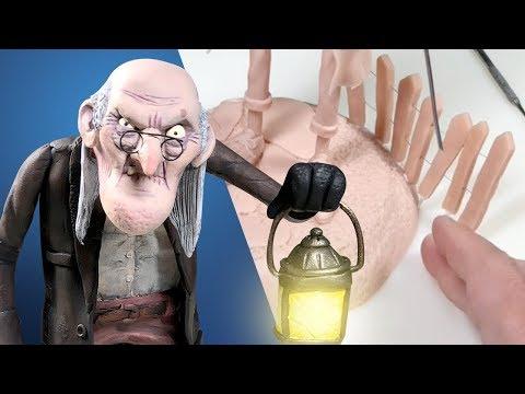 SO MANY DETAILS! Making a Creepy Character w/ an Environment - Polymer Clay Tutorial thumbnail