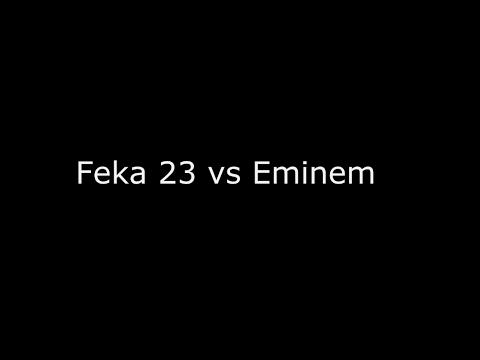 Feka 23 vs Eminem (Armenian Rap vs American Rap) Fast Flow