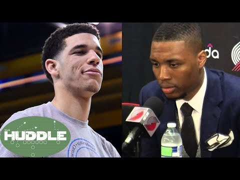 Download Youtube: Damian Lillard GOES OFF About Trailing Lonzo Ball in All-Star Voting -The Huddle