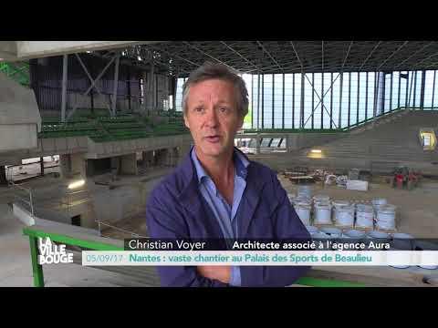 Nantes : vaste chantier au Palais des Sports de Beaulieu
