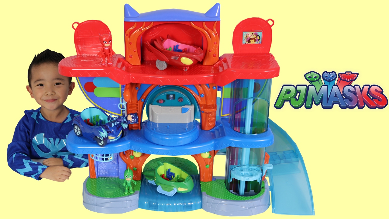 Pj Masks Headquarters Playset Toys