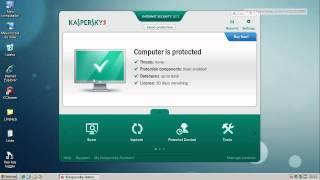 Kaspersky Internet Security 2012 - Teste Preventivo (Preventive Test)