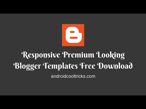 Top 10 Premium Looking Blogger Templates Free Download