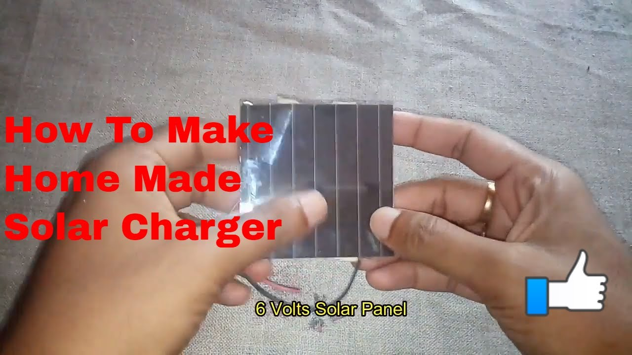 How To Make Homemade Solar Charger Regulator Control Circuit For Battery Charge Controller Smartphone