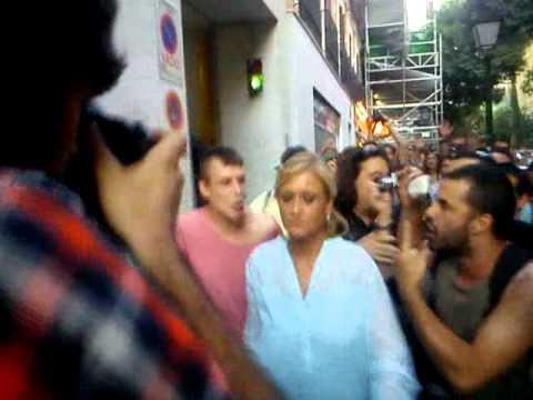 Estos son los vídeos de algunos de los acosos practicados por los ahora ofendidos podemitas