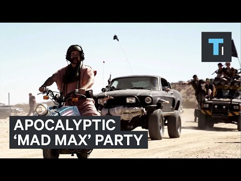 Apocalyptic 'Mad Max' party