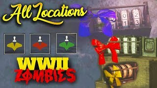 "All Keepsake and Enigma Machine Locations WWII Zombies ""The Final Reich"" Zombies Walkthrough Guide"