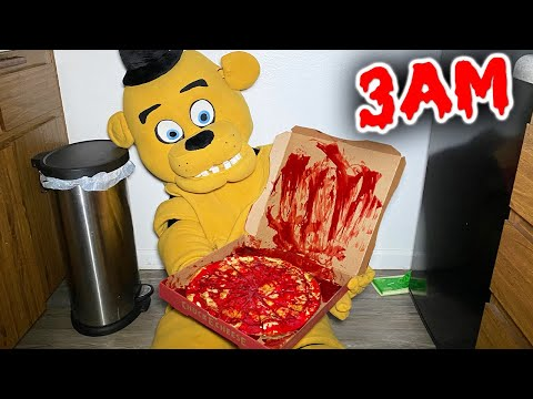 DO NOT ORDER FREDDY FAZBEAR PIZZA AT 3 AM!! ( FNAF IS REAL!! )