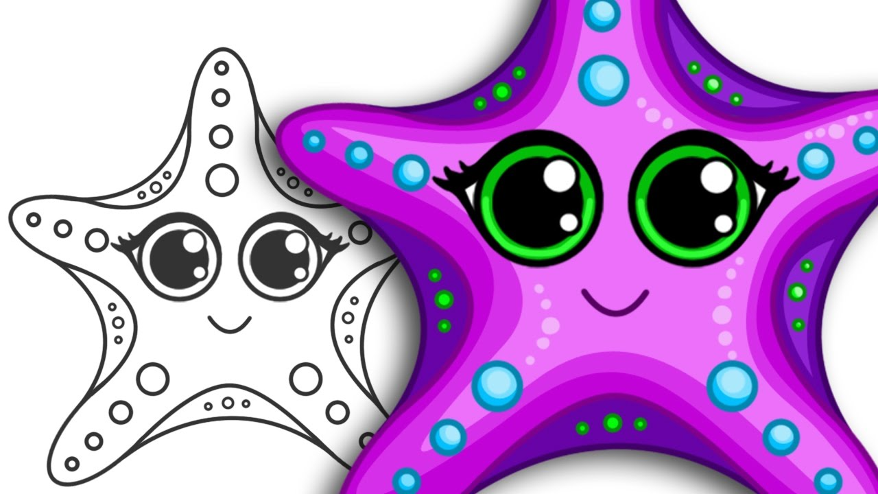 Starfish Drawing