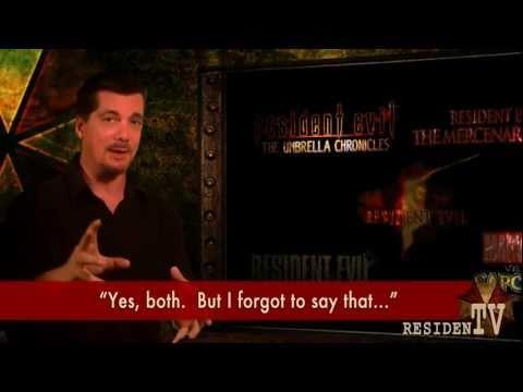 Resident Evil   D.C. Douglas, Last Albert Wesker Voice
