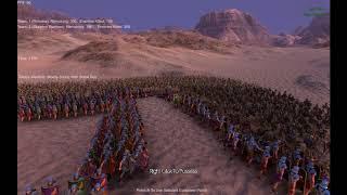 601 romans vs skeleton warriors