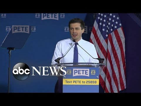 Mayor Pete Buttigieg officially joins the 2020 presidential race