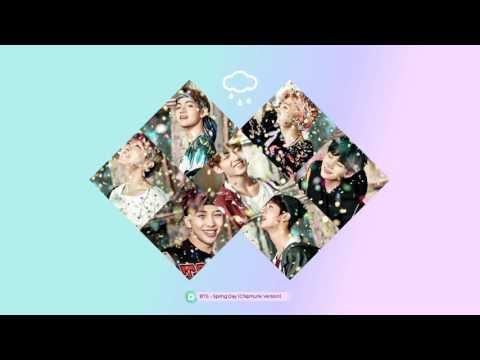 BTS - Spring Day (Chipmunk Version)