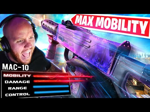 MAX MOBILITY MAC-10! NEW BUILD! Ft. Nickmercs, CouRageJD & Cloakzy