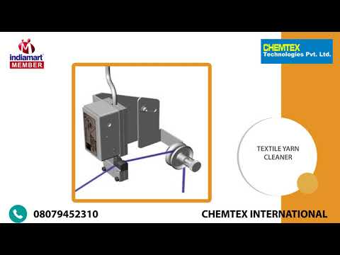 Textile Manufacturing Machines by Chemtex International, New Delhi