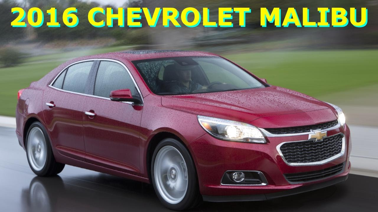 Perfect 2016 Chevrolet Malibu Review First Look Specs Performance Of New