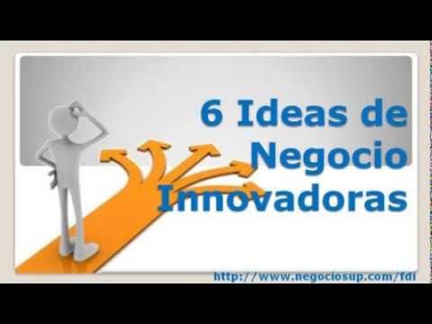 6 Ideas de Negocios Innovadoras   YouTube