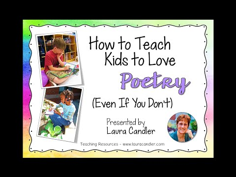How to Teach Kids to Love Poetry