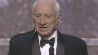 Elia Kazan receiving an Honorary Oscar®