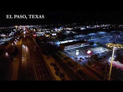 El Paso Drone shot (Night time) | [Lalasblessed]