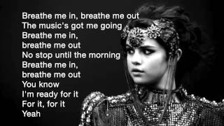 Song: slow down artist: selena gomez lyrics: now that i have captured your attention wanna steal you for a rhythm intervention mr. tsa* i'm ready insp...