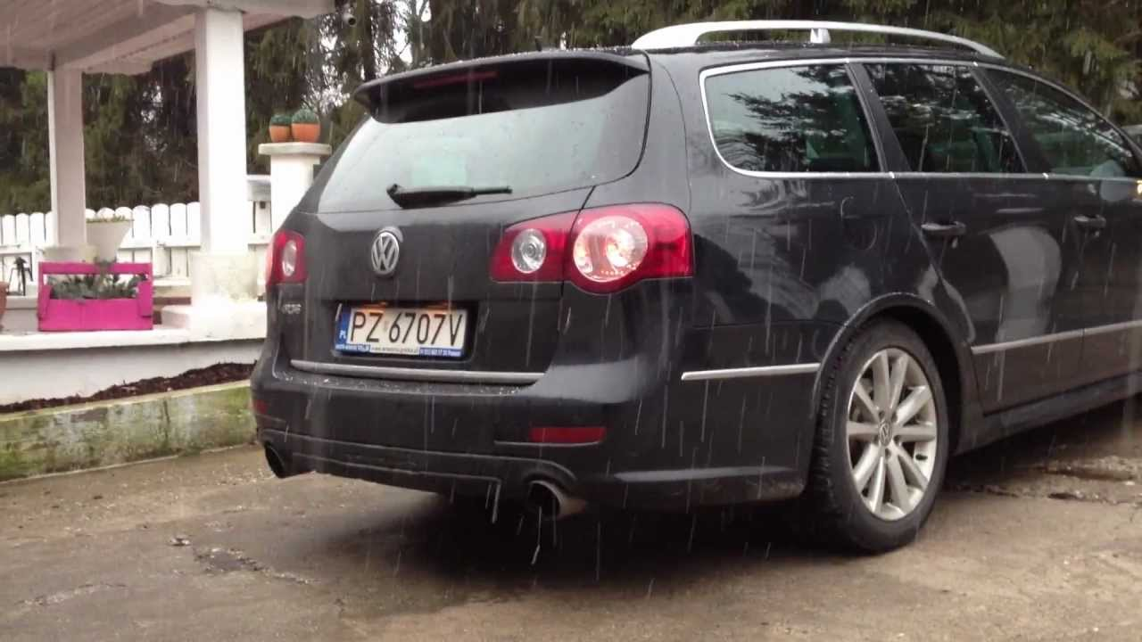 vw passat r36 sound bbk auspuffanlage exhaust youtube. Black Bedroom Furniture Sets. Home Design Ideas