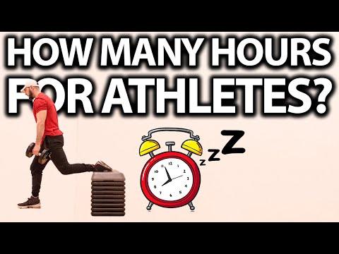 HOW MUCH SLEEP DO ATHLETES NEED