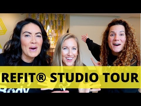 IT'S HERE: THE BRAND NEW REFIT® STUDIO TOUR!!