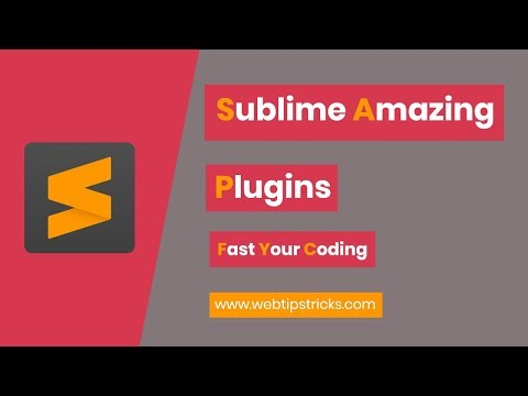 Sublime Editor Amazing Plugins [Urdu/Hindi]