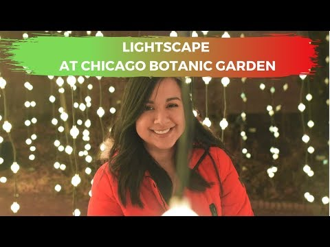Lightscape At Chicago Botanic Garden 2019 Youtube