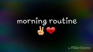 my momio morning routine 😌👀❤