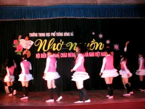 Into the new world (dance steps by A1 Girls,vietnamese ...