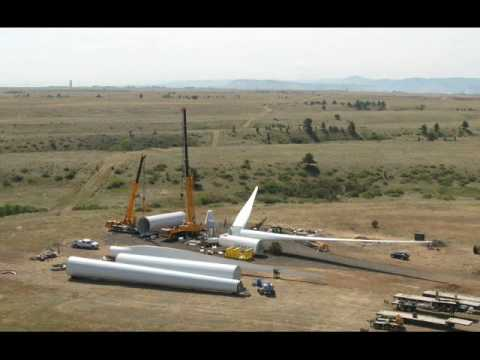 New Siemens Research Turbine - time lapse
