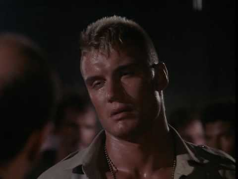 Ivan Drago after the loss to Rocky