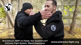 Внезапный УДАР на Улице. Как защититься Extreme Fight System. Юрий Кормушин