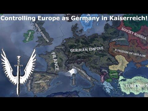 Expanding the German Empire in Kaiserreich (Hoi4 Speedrun/Timelapse)