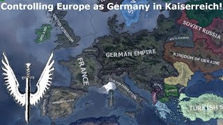 Expanding the German Empire in Kaiserreich (Hoi4 Speedrun/Timelapse)