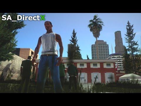 """GTA San Andreas - SA_DirectX 2.0 """"Intro & Mission #1 - Big Smoke, Sweet & Kendl"""" (Gameplay)"""