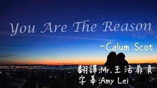 《You Are The Reason 妳是唯一的理由》Calum Scott 中文字幕