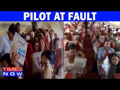 "Air India Pilot At Fault In Bagdogra - Delhi Flight ""AC"" Issue"